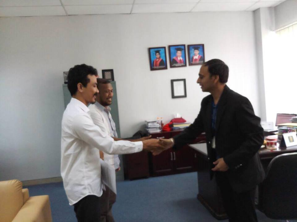 Memorandum of Understanding (MoU) anatar STIKOM Medan dan NIIT Limited